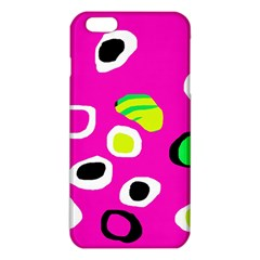 Pink Abstract Pattern Iphone 6 Plus/6s Plus Tpu Case by Valentinaart