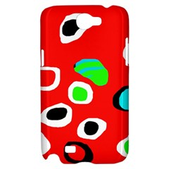 Red abstract pattern Samsung Galaxy Note 2 Hardshell Case