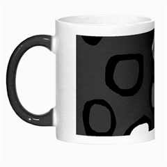 Gray Abstract Pattern Morph Mugs by Valentinaart