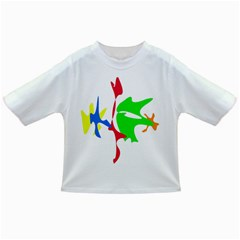 Colorful Amoeba Abstraction Infant/toddler T Shirts by Valentinaart