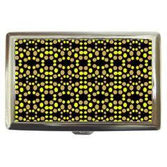 Dots Pattern Yellow Cigarette Money Cases by BrightVibesDesign
