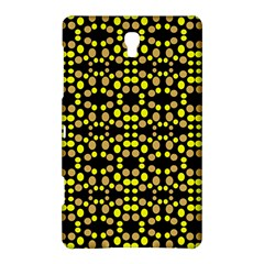 Dots Pattern Yellow Samsung Galaxy Tab S (8 4 ) Hardshell Case  by BrightVibesDesign