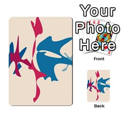 Decorative Amoeba Abstraction Multi Purpose Cards (rectangle)