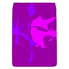 Purple, Pink And Magenta Amoeba Abstraction Flap Covers (s)  by Valentinaart
