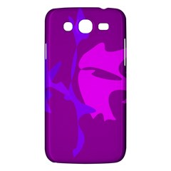 Purple, Pink And Magenta Amoeba Abstraction Samsung Galaxy Mega 5 8 I9152 Hardshell Case  by Valentinaart