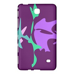 Purple Amoeba Abstraction Samsung Galaxy Tab 4 (7 ) Hardshell Case  by Valentinaart