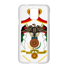 Coat of Arms of Jordan Samsung Galaxy S5 Case (White) by abbeyz71