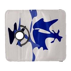 Blue Amoeba Abstract Samsung Galaxy S  Iii Flip 360 Case by Valentinaart