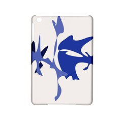 Blue Amoeba Abstract Ipad Mini 2 Hardshell Cases by Valentinaart