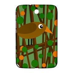 Brown Bird Samsung Galaxy Note 8 0 N5100 Hardshell Case  by Valentinaart