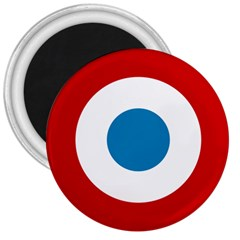 Roundel of the French Air Force  3  Magnets by abbeyz71