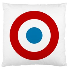Roundel Of The French Air Force  Standard Flano Cushion Case (one Side) by abbeyz71
