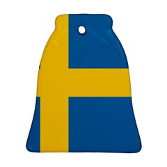 Flag Of Sweden Ornament (bell)  by abbeyz71