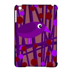 Sweet Purple Bird Apple Ipad Mini Hardshell Case (compatible With Smart Cover) by Valentinaart