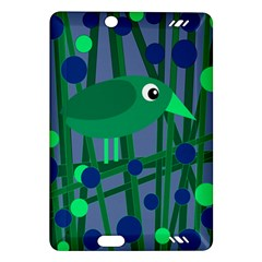 Green And Blue Bird Amazon Kindle Fire Hd (2013) Hardshell Case by Valentinaart