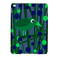 Green And Blue Bird Ipad Air 2 Hardshell Cases by Valentinaart