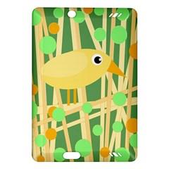 Yellow little bird Amazon Kindle Fire HD (2013) Hardshell Case by Valentinaart
