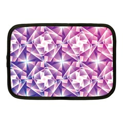 Purple Shatter Geometric Pattern Netbook Case (medium)  by TanyaDraws