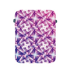 Purple Shatter Geometric Pattern Apple Ipad 2/3/4 Protective Soft Cases by TanyaDraws