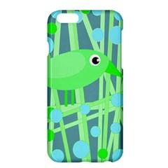 Green Bird Apple Iphone 6 Plus/6s Plus Hardshell Case by Valentinaart