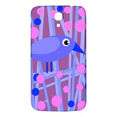 Purple And Blue Bird Samsung Galaxy Mega I9200 Hardshell Back Case by Valentinaart