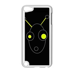 Yellow Alien Apple Ipod Touch 5 Case (white)