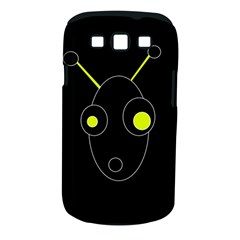 Yellow Alien Samsung Galaxy S Iii Classic Hardshell Case (pc+silicone) by Valentinaart