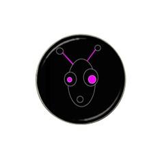 Purple Alien Hat Clip Ball Marker (10 Pack) by Valentinaart