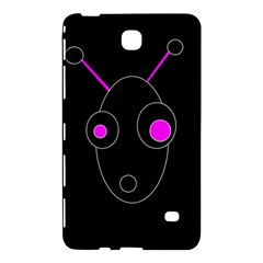 Purple Alien Samsung Galaxy Tab 4 (8 ) Hardshell Case  by Valentinaart