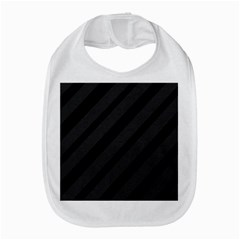 Gray And Black Lines Bib by Valentinaart