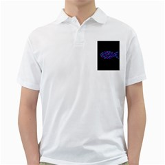 Purple Fish Golf Shirts by Valentinaart