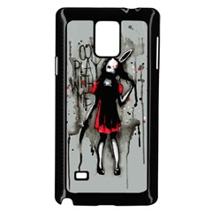 Come Play With Me   Samsung Galaxy Note 4 Case (Black) by lvbart
