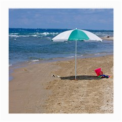 Beach Umbrella Glasses Cloth (Medium 2-Side) by PhotoThisxyz
