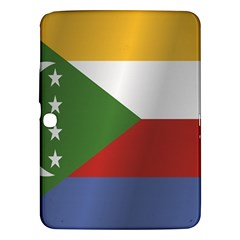 Flag Of Comoros Samsung Galaxy Tab 3 (10.1 ) P5200 Hardshell Case  by artpics