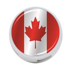 Flag Of Canada 4-Port USB Hub (One Side) by artpics
