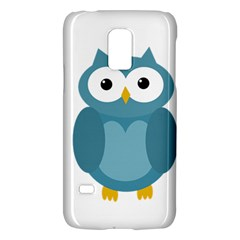 Cute Blue Owl Galaxy S5 Mini by Valentinaart