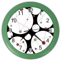 Decorative Circles Color Wall Clocks