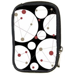 Decorative Circles Compact Camera Cases by Valentinaart