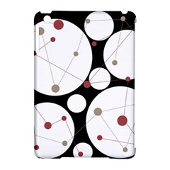 Decorative circles Apple iPad Mini Hardshell Case (Compatible with Smart Cover) by Valentinaart