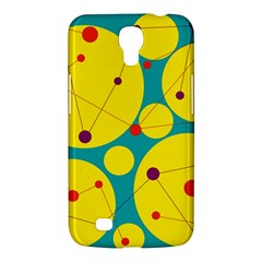 Yellow And Green Decorative Circles Samsung Galaxy Mega 6 3  I9200 Hardshell Case by Valentinaart