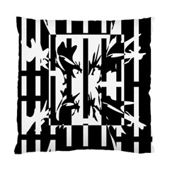 Black and white abstraction Standard Cushion Case (Two Sides)