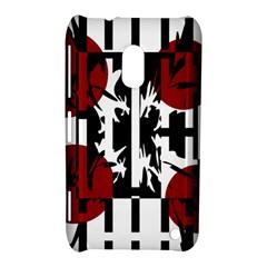 Red, Black And White Elegant Design Nokia Lumia 620 by Valentinaart