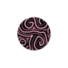 Decorative Lines Golf Ball Marker (4 Pack) by Valentinaart