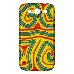 Colorful Decorative Lines Samsung Galaxy Mega 5 8 I9152 Hardshell Case  by Valentinaart
