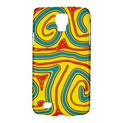 Colorful Decorative Lines Galaxy S4 Active by Valentinaart