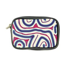 Blue And Red Lines Coin Purse by Valentinaart