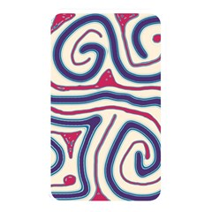 Blue And Red Lines Memory Card Reader by Valentinaart