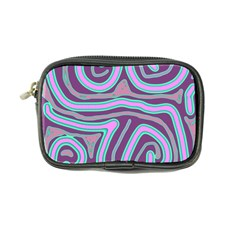 Purple Lines Coin Purse by Valentinaart