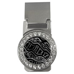 Black And White Decorative Design Money Clips (cz)  by Valentinaart
