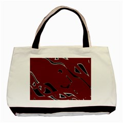 Decorative Abstract Art Basic Tote Bag (two Sides) by Valentinaart